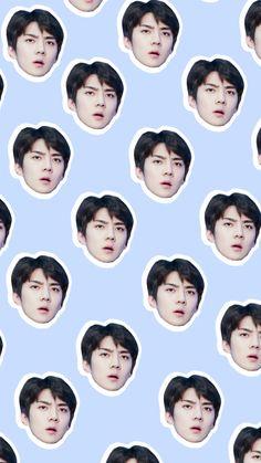 welcome — Sehun Head Wallpapers Taemin, Shinee, Baekhyun, Sehun Cute, Exo Lockscreen, Exo Fan Art, Kim Jongdae, Exo Memes, Kpop Exo