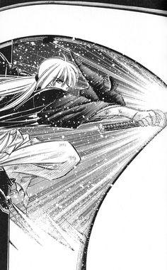 Beautiful panel in Nobuhiro Watsuki's marvelous manga, RurouniKenshin. #RuroKen #RurouniKenshin #manga
