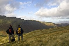 Hikers in the Lake District.