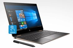 Shop HP Spectre Ultra HD Touch-Screen Laptop Intel Core Memory SSD + Optane Poseidon Blue at Best Buy. Find low everyday prices and buy online for delivery or in-store pick-up. Laptop Screen Repair, Touch Screen Laptop, Laptops For Sale, Best Laptops, Hp Pavilion, Windows 10, Microsoft Office 365, Laptop Storage, Hp Spectre