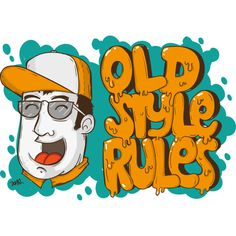 OLD style 01 is a T Shirt designed by davidooone to illustrate your life and is available at Design By Humans