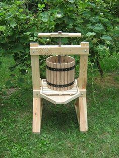 Apple Cider Press Hardware & Barrel Kit ss 4B CP&B | cider-press-n-barrel - Woodworking on ArtFire