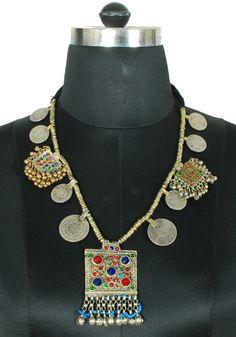 Antique Afghan Necklace Design 5 – Desically Ethnic