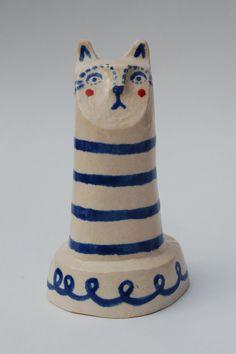 Breton Cat by VickyLindo on Etsy, £30.00