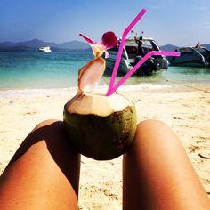 #Thailand #beach #cocktails