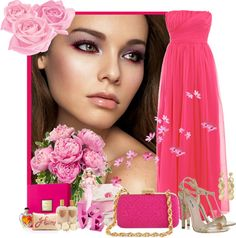 """""""Pink Paradise"""" by scorpioncina86 on Polyvore"""