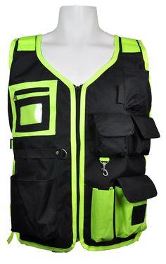 3A Safety - Utility Surveyor Safety Vest - National CERT logo