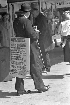 Rotterdam - Charly the sandwichman