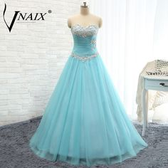 P1167 Puffy Real photo Sweetheart with Crystal Beading and Pleat Lace Up Back A Line Prom Dresses 2015