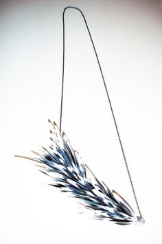 YOLANDE DUCHATEAU-BE - feathers 2013 - necklace