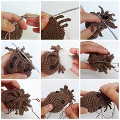 """My crocheted baby Groot inspired by the Marvel movie """"Guardians of the Galaxy"""" turned out to be quite popular and many people have asked ..."""