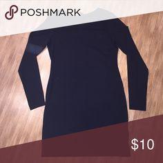Black Mini Dress This is an H&M Basic dress. Worn once! Size medium. 95% cotton 5% spandex H&M Dresses Mini