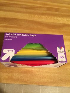 Colored bags for portions. #target #21dayfix #beachbody
