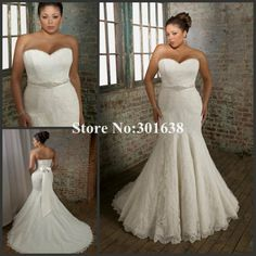 Aliexpress.com New Syle Sweetheart Mermaid ] Lace Wedding Dress  $179.70