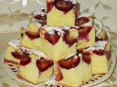 Rozi Erdélyi konyhája: Szilvás sütemény Hungarian Cake, Hungarian Recipes, Dessert Bread, Meal Planning, Main Dishes, Cake Recipes, Recipies, Cheesecake, Deserts