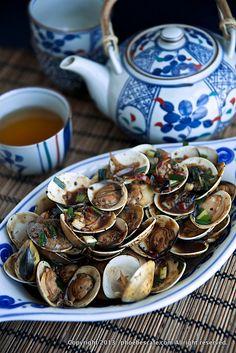 중국 매운 조개 볶음 레시피, 해물 요리, 반찬,
