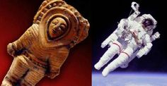 Ancient Alien Astronaut Artifacts, found in Ecuador. Ancient Aliens, Aliens And Ufos, Ancient Art, Ancient Egypt, Ancient History, European History, Ancient Greece, American History, Unexplained Mysteries