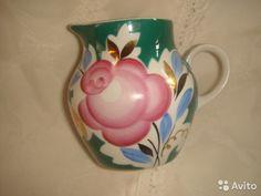 Молочник (Дулево) -роза