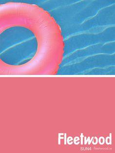 Fleetwood Paint's SUN4 Fleetwood Paint, Summer Colours, Color Inspiration, Outdoor Decor, Painting, Summer Colors, Painting Art, Paintings, Painted Canvas