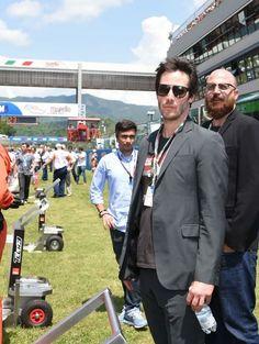 Keanu Reeves - May - June 2015 Moto GP Grand Prix of Italy Mugello Ducati Bologna