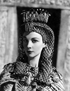 "Vivien Leigh in ""Caesar and Cleopatra"" 1945."