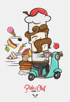 PIDE AL CHEF on Behance