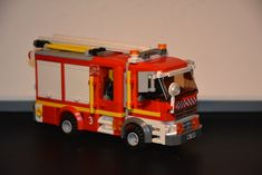 Lego City Fire Station, Lego Fire, Fire Engine, Fire Department, Engineering, Firefighters, Firetruck, Fire Dept, Technology