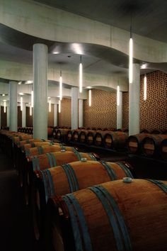 Chateau Cheval Blanc Winery, Saint-Emilion, 2011 by Atelier Christian de Portzamparc Architecture Details, Interior Architecture, Interior Design, Christian De Portzamparc, Saint Emilion, French Wine, Dordogne, In Vino Veritas, French Chateau