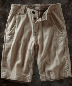 Stately Linen Shorts