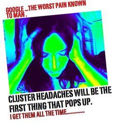Cluster headaches -