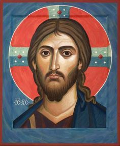 "gaze-on-jesus: """"God restores everything. When I submit the broken pieces of my life to Him, He restores me to a beauty far more than what I prayed for. Byzantine Art, Byzantine Icons, Religious Icons, Religious Art, Prayer Images, Spiritual Paintings, Images Of Christ, Christian Artwork, Jesus Face"