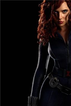 Black widow-she may be my favorite...wish Shawn were here to explain her a bit more. I'm clueless. Love the hair though... @Erin Perez we may need to chat on Sunday about her... lol