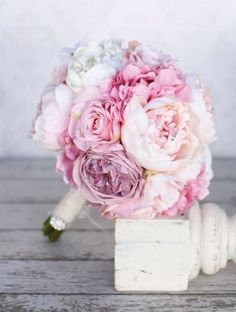wedding, flowers, and peonies image