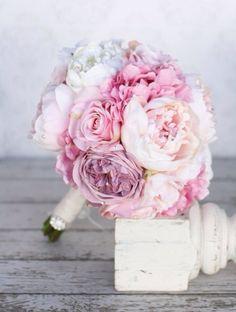 wedding, flowers, and peonies image