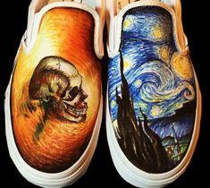 Van Gogh Canvas Shoes Van Gogh Shoes