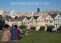 Tons to do in San Francisco and the Bay Area!