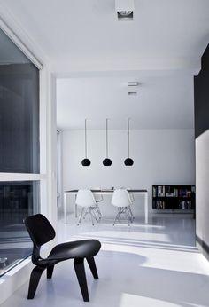 Minimalistic Penthouse in Copenhagen.