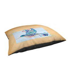Thumbprintz Funky Hummingbird Indoor/Outdoor Pet Bed