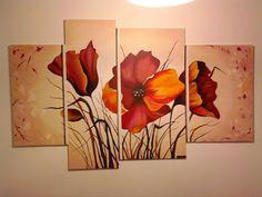 Cuadros Lidia Diy Painting, Painting On Wood, Leaf Wall Art, Animals Beautiful, Art Inspo, Pencil Drawings, Poppies, Canvas Art, Fine Art