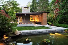Contemporary Home Design: Genuine Urban Cabin by Suyama Peterson Deguchi