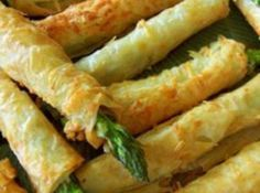 Asparagus Phyllo Appetizers Recipe