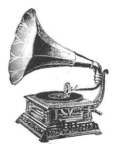 Graphics Cottage: Vintage Phonograph Steampunk Clip Art Image