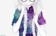 Imagen de anime, manga, and glasses                                                                                                                                                                                 Más