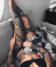 Trendy Tattoo Bein Mädchen Ärmel Tat tattoo tattoo tattoo calf tattoo ideas tattoo men calves tattoo thigh leg tattoo for men on leg leg tattoo Hot Tattoos, Trendy Tattoos, Body Art Tattoos, Girl Tattoos, Tatoos, Feminine Tattoos, Woman Tattoos, Hot Tattoo Girls, Ladies Tattoos