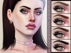 Pralinesims' Tessa Eyebrows N126