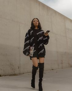 How to dress chic casual boots 31 Super Ideas Cute Casual Outfits, Pretty Outfits, Stylish Outfits, Fall Outfits, Casual Boots, Look Fashion, Teen Fashion, Fashion Outfits, Mode Streetwear