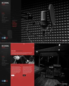 Design gets time... Get Template Espresso! That's JavaScript Based #template // Regular price: $61 // Unique price: $4200 // Sources available: .HTML,  .PSD  #JavaScript #Responsive #Music #Recording #Studio