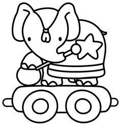 Disegni da colorare per bambini. Colorare e stampa Circo 5