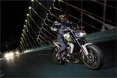 2017 Yamaha FZ-09 Sport Motorcycle