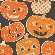 Halloween pumpkin print